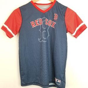 Boston Red Sox Youth Short Sleeve Shirt